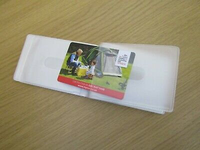 Replacement Credit Card Holder Plastic Sleeves Inserts Wallet Landscape Style