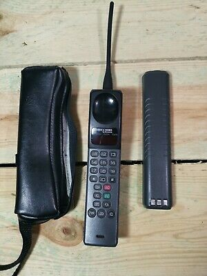 Vintage Brick Cell Phone Motorola Metro Mobile with Antenna & Battery no charger