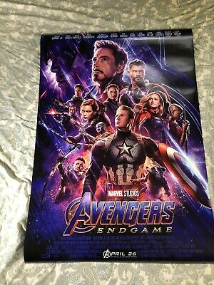 Avengers: Endgame 27x40 One Sheet Poster Official Authentic Theatrical Marvel