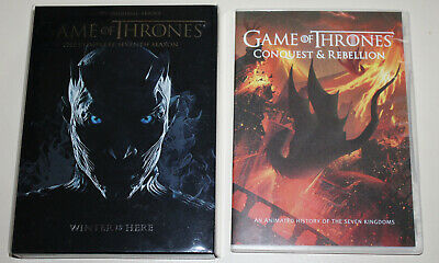 Game of Thrones complete seventh season + Conquest & Rebellion Disc
