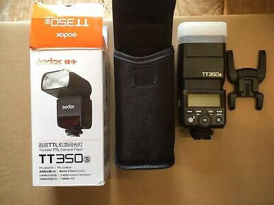Godox Mini TT350S 2.4G TTL GN36 Wireless Camera flash for Sony a77II a7R A99