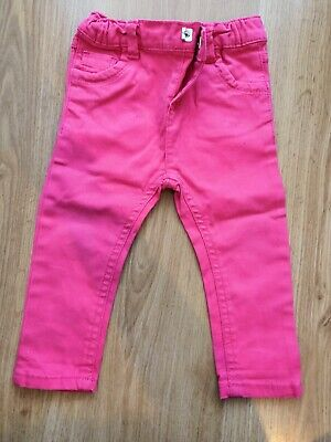 girls trousers size 6 months kids clothes good condition pink colour