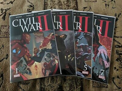 MARVEL Civil War II (2016) - HUGE  Comic Book LOT! 125+ Issues (Crossover Event)