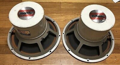 Electro-Voice SP-12 x2 (pair) For Patrician 700 800 EV Electrovoice/ Tested Work