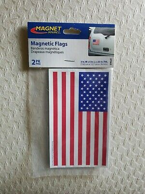 American Flag Magnet 3x5 inch Patriotic Decal for Car Truck Mailbox or Fridge