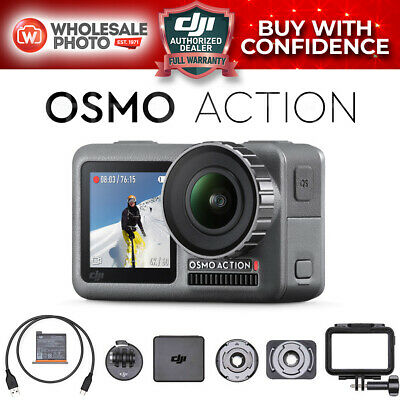 DJI Osmo Action 4K Camera - Dual Screen RockSteady Digital Video Stabilization
