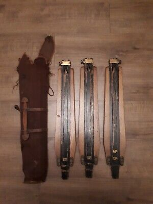 Antique Wooden Camera Tripod Legs, Extendable, Folding (Relisted as unpaid)