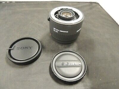 Sigma APO Tele converter 2x EX for Canon AF From JAPAN