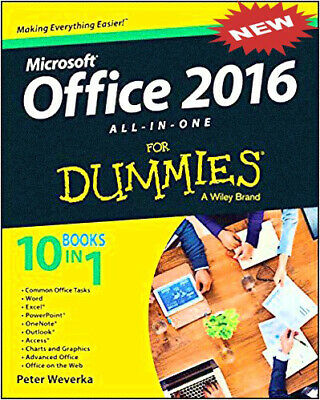 Microsoft Office 2016 All-In-One For Dummies - DIGIT [E-B OOK]🔥Instant Delivery