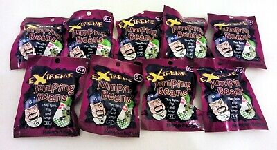8 Packs Of Extreme Jumping Beans - Party Bag Gifts Boys/Girls