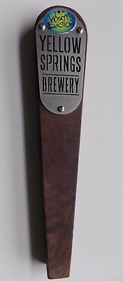 """Wyatt's Eviction Beer Tap Handle Yellow Springs Brewery Ohio Man Cave / Bar 12"""""""