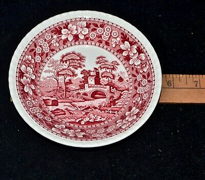 Vintage 1930s Copeland Spode's Tower China Pink Red BOWLS MINT Various Sizes
