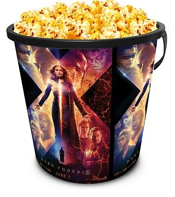 Marvel X-Men: Dark Phoenix Movie Theater Exclusive 130 oz Plastic Popcorn Tub