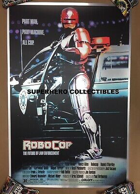 Robocop Foil Variant #129/150 Screen Print Poster by Mike Bryan