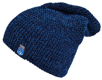 NEW State of Origin NSW New South Wales Blues NRL Slouch Beanie Warm Winter Gift