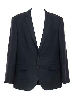J Crew Men's Crosby Wool Suit Jacket Blazer Two Button Double Vent 40R Navy