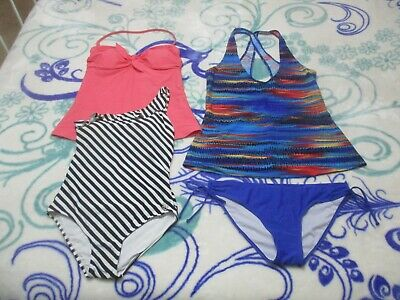 Ladies Size 14 Swimmers, 4 Pieces
