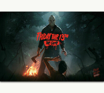 30 24x36 Poster Friday The 13th Hot Classic Horror Custom Movie T-1395