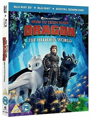 HOW TO TRAIN YOUR DRAGON: THE HIDDEN WORLD 3D 2D Blu-Ray Combo