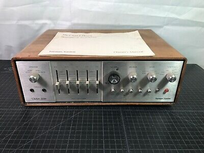 Harman Kardon Citation Eleven 11 Preamp Stereophonic Vtg 70s Nice! W/ Manual