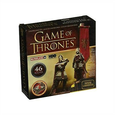 Mcfarlane Toys Game Of Thrones Got Lannister Banner Pack 2 Soldiers Sigil 19361