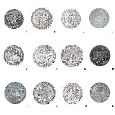 New Cheap Commemorative Coin 12 Constellations Souvenirs Craft Gifts Collection