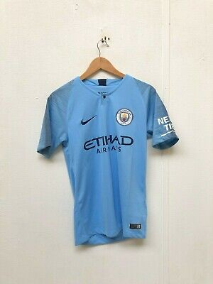 Nike Manchester City FC Women's 2018/19 Home Shirt - Small - No Name - New