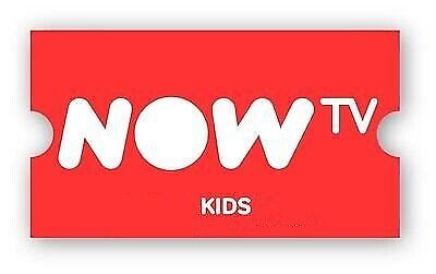 NOW TV Kids now 3 1/2 MONTHS - Read first !
