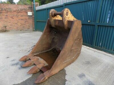 Miller 48 Inch Digging Bucket With Teeth On 100Mm Pins /Free Uk Delivery Inc