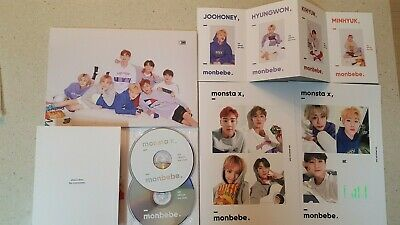 [MONSTA X] Monbebe set - 4rd Official Fanclub Kit + Gift K-P
