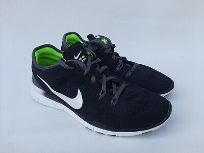 timeless design 29cfc 68338 Womens Ladies Nike Free TR Fit 5 Running black Trainers Shoes Size UK 6 EU  40