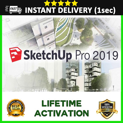 SketchUp Pro 2018 / 2019 License key Win 64Bit - Lifetime Software Activation 🔓