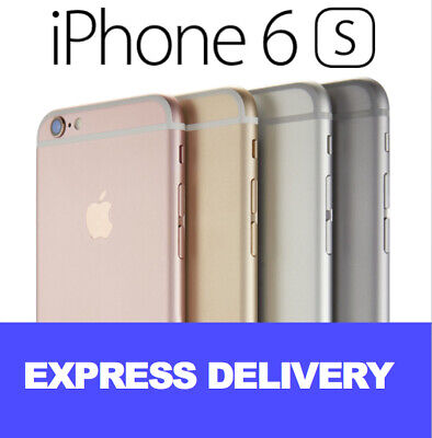 NEW iPhone 6S 16GB 64GB 4G 100% UNLOCKED SMARTPHONE SHIPS EXPRESS FROM MELBOURNE