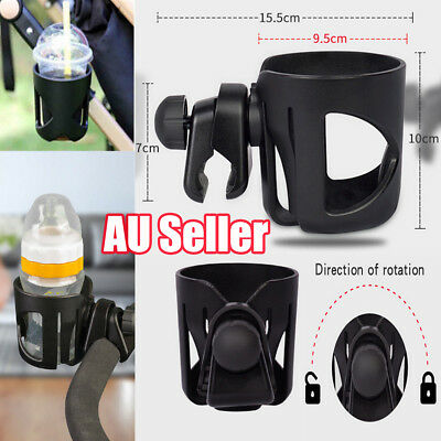 Baby Stroller Pram Cup Holder Universal Bottle Drink Water Coffee Bike Bag  GR