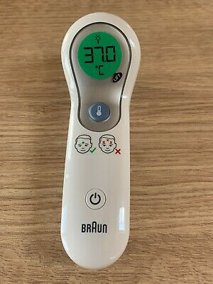 Braun NTF3000 - No Touch Plus Forehead Digital Thermometer for Baby/Child - Used