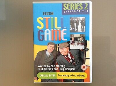 Still Game Dvd - Series 2 Episodes 7 To 9 - Very Good Condition