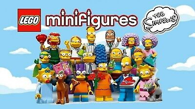 Pick your own! 🍩 LEGO The Simpsons Collectible Minifigures 71009