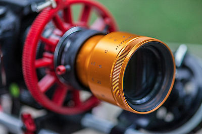 Isco Micro 2X Anamorphic Lens for all DSLR. READY TO SHOOT w/clamp & 58mm filter