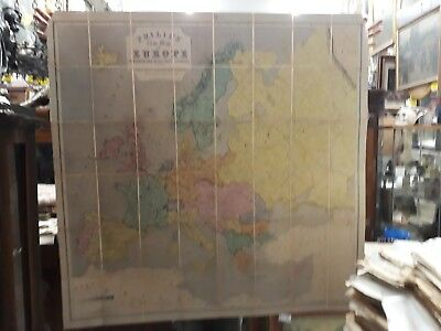 ANCIENT MAP - PHILIPS' COMMERCIAL MAP OF EUROPE - ANTICA MAPPA - 132 cm