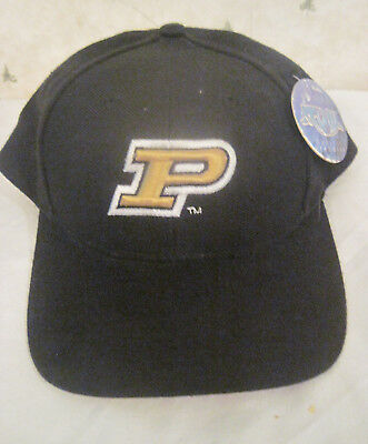 pretty nice 3313b 12dcf Purdue Boilermakers Snapback Hat Top Of The World New With Tags