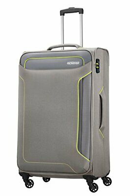 American Tourister Holiday Heat Spinner 79.5 cm, 3.8 KG, 108 L(Metal Grey)