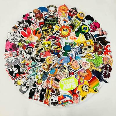 Lot 500 Random Vinyl Stickers Bomb Skateboard Luggage Laptop  - Ships from USA