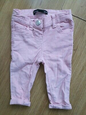 Girls Trousers Size 3-6 months kids clothes pink trousers Primark good condition