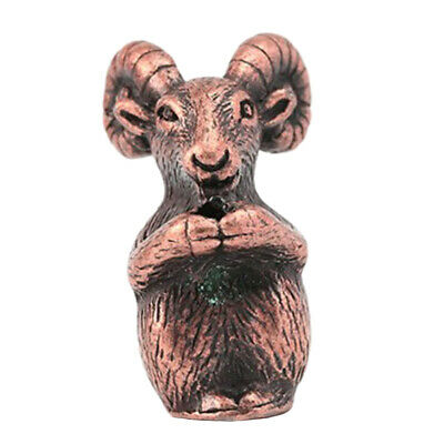 Chinese Zodiac Animals Goat Statute Incense Holder Wealth Lucky Fortune