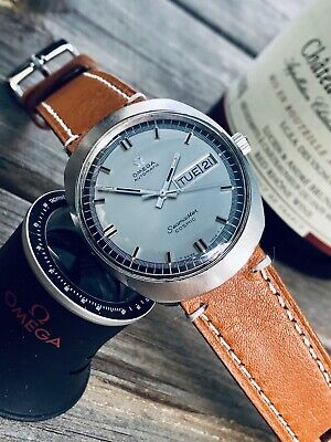 Omega Mens Seamaster Day Date vintage Automatic Watch 1960 1969 wristwatch + Box