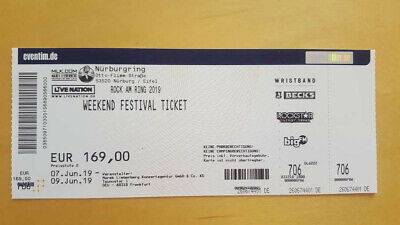 1x Rock am Ring 2019 - Weekend Festival Ticket