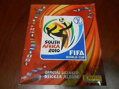 d8934c1bc Panini Fifa World Cup South Africa 2010 Album Full Complete Official  Stickers