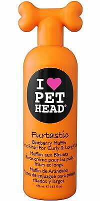I Love Pet Head Dog Grooming Shampoo Fantastic Blueberry Muffin 475Ml. Brand New