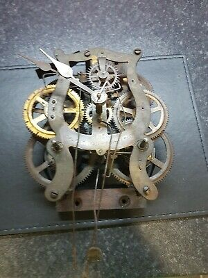 The Caledonian Registered Clock Movement