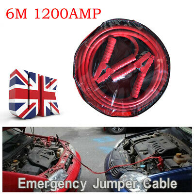 20ft 1200AMP Heavy Duty Car Power Booster Cable Emergency Battery Jumper Wire UK